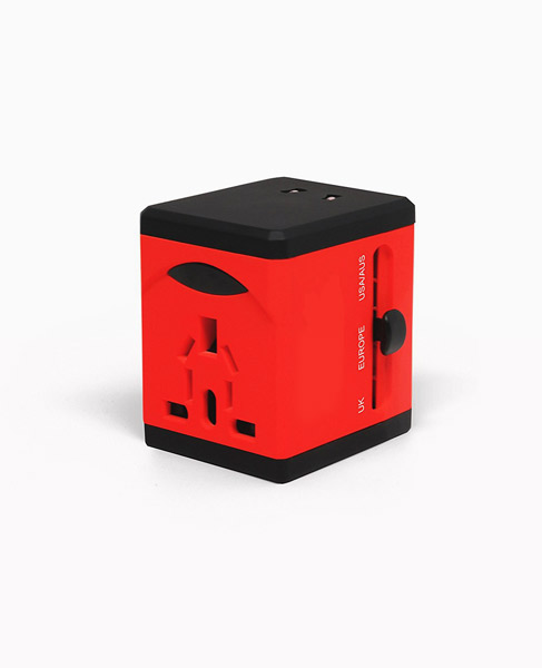 2USB TRAVEL ADAPTER
